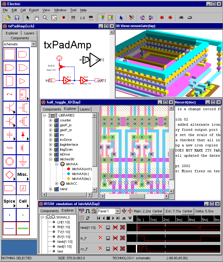 Using The Electric VLSI Design System, Version 9.07